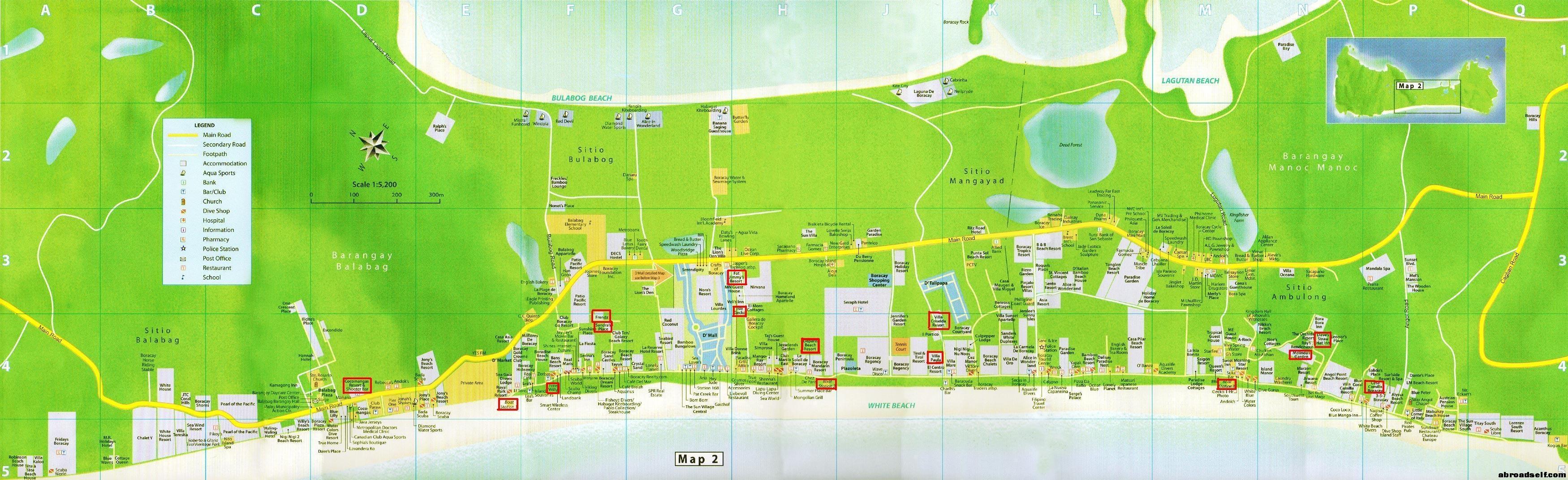 长滩岛全地图