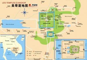 吴哥窟地图1