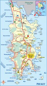 普吉岛超高清地图