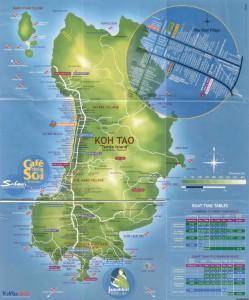 高分辨率涛岛地图